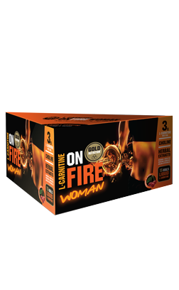 L-CARNITINA ON FIRE WOMAN GOLDNUTRITION