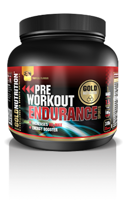 PRE-WORKOUT ENDURANCE MELOCOTÓN GOLDNUTRITION 300 G