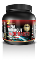 PRE-WORKOUT ENDURANCE LIMÓN GOLDNUTRITION 300 G